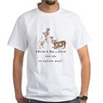 No Matter What (LATTE) White T-Shirt