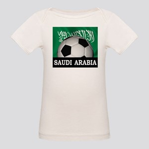 Football Saudi Arabia Organic Baby T-Shirt
