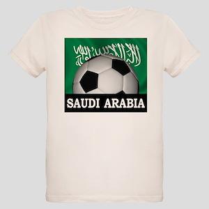 Football Saudi Arabia Organic Kids T-Shirt