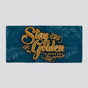 Stay Golden Girls Beach Towel