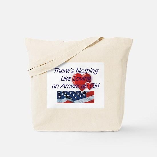 Love American Girl Tote Bag