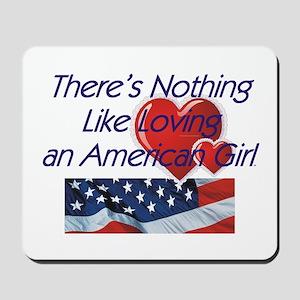 Love American Girl Mousepad