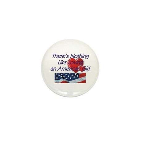 Love American Girl Mini Button (10 pack)