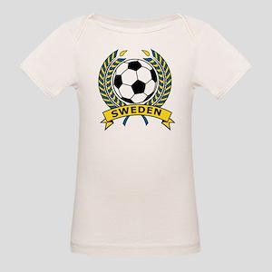 Soccer Sweden Organic Baby T-Shirt