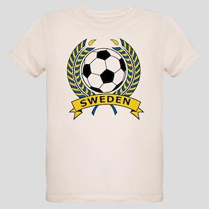 Soccer Sweden Organic Kids T-Shirt