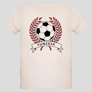 Soccer Tunisia Organic Kids T-Shirt