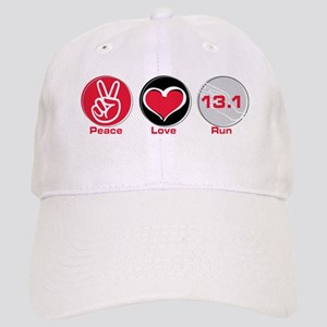Peace Love Run 13.1 Cap