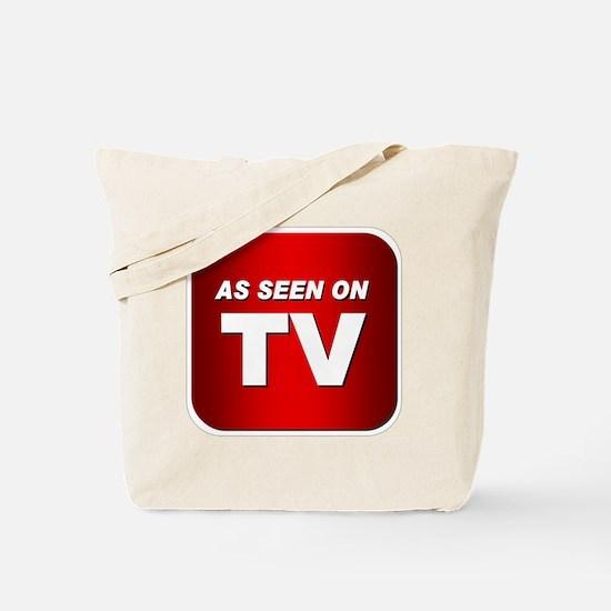 Unique Seen tv Tote Bag