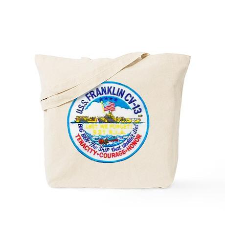 USS FRANKLIN Tote Bag
