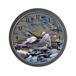 Killdeer Wall Clock