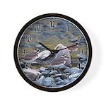 Killdeer Wall Clock