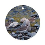 Killdeer Ornament (Round)