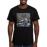 Killdeer Men's Fitted T-Shirt (dark)