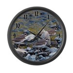 Killdeer Large Wall Clock