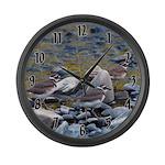 Killdeer Large Wall Clock