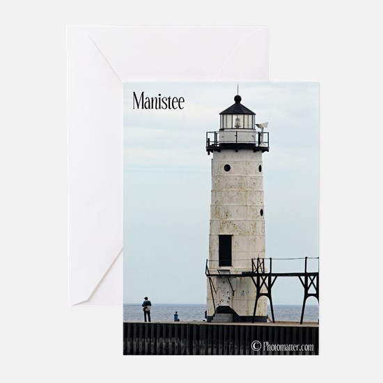 Manistee Lighthouse Greeting Cards (Pk of 20)