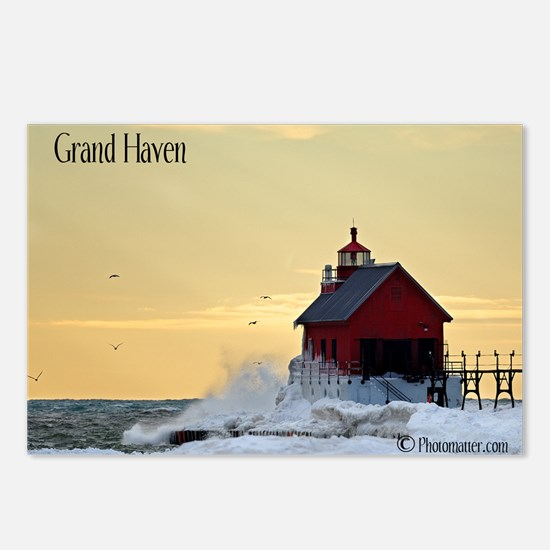Grand Haven Lighthouse Postcards (Package of 8)