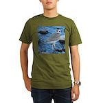 Killdeer (Single) Organic Men's T-Shirt (dark)