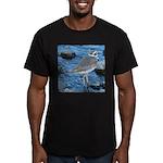 Killdeer (Single) Men's Fitted T-Shirt (dark)