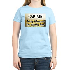Akeley Beer Drinking Team Women's Light T-Shirt