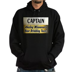 Akeley Beer Drinking Team Hoodie (dark)