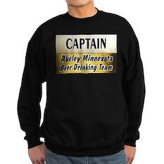 Akeley Beer Drinking Team Sweatshirt (dark)