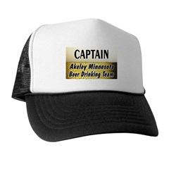 Akeley Beer Drinking Team Trucker Hat