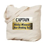 Akeley Beer Drinking Team Tote Bag