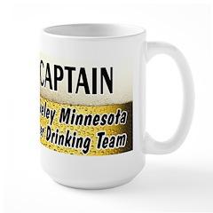Akeley Beer Drinking Team Large Mug