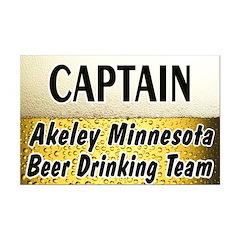 Akeley Beer Drinking Team Posters
