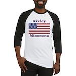 Akeley US Flag Baseball Jersey