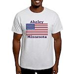 Akeley US Flag Light T-Shirt