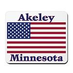 Akeley US Flag Mousepad