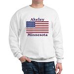 Akeley US Flag Sweatshirt