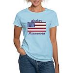 Akeley US Flag Women's Light T-Shirt