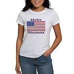 Akeley US Flag Women's T-Shirt