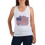 Akeley US Flag Women's Tank Top