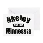 Akeley Established 1916 Greeting Cards (Pk of 10)