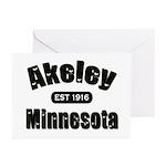 Akeley Established 1916 Greeting Cards (Pk of 20)