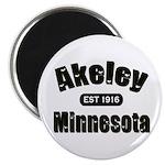 Akeley Established 1916 Magnet