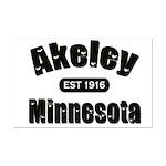 Akeley Established 1916 Mini Poster Print