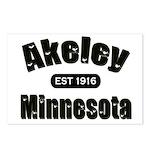 Akeley Established 1916 Postcards (Package of 8)