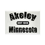Akeley Established 1916 Rectangle Magnet
