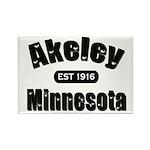 Akeley Established 1916 Rectangle Magnet (100 pack