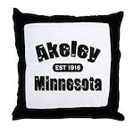 Akeley Established 1916 Throw Pillow