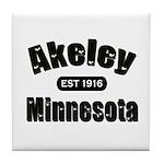 Akeley Established 1916 Tile Coaster