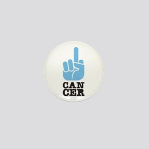 Flip Off Cancer Mini Button