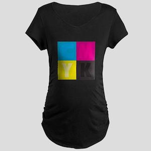 CMYK Maternity T-Shirt