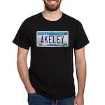 Akeley License Plate Dark T-Shirt