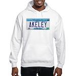 Akeley License Plate Hooded Sweatshirt
